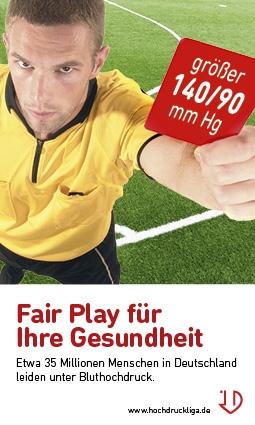 Berlin-News.NET - Berlin Infos & Berlin Tipps | Fair Play für Ihre Gesundheit - Anzeigenserie der Deutschen Hochdruckliga e.V. DHL