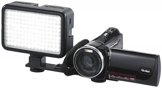 Europa-247.de - Europa Infos & Europa Tipps | Somikon Foto- und Videoleuchte mit 135 Tageslicht-LEDs