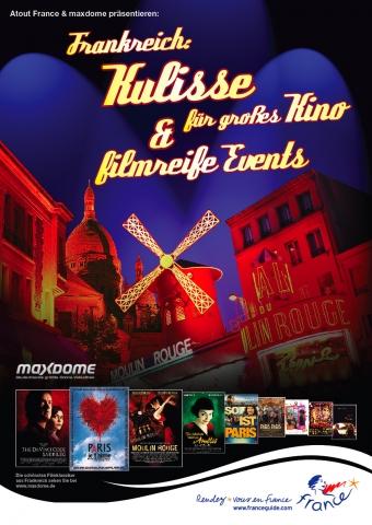 Tickets / Konzertkarten / Eintrittskarten | MICE-Kampagne 2011, Atout France von PeC