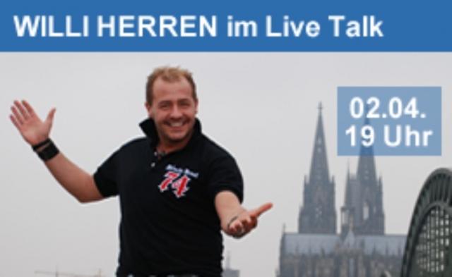Kiel-Infos.de - Kiel Infos & Kiel Tipps | Willi Herren im Live-Promi-Talk auf manytoo.com