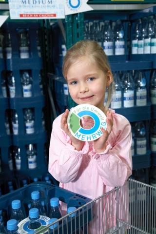 Nordrhein-Westfalen-Info.Net - Nordrhein-Westfalen Infos & Nordrhein-Westfalen Tipps | Mehrweg-Getränkeflaschen erkennt man an dem Zeichen 'Mehrweg - Für die Umwelt'