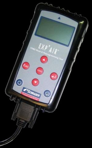 Technik-247.de - Technik Infos & Technik Tipps | Mit dem Gerät Exp'Air lassen sich TPMS-Sensoren auslesen.