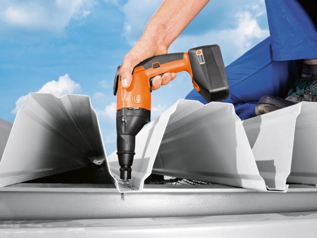 Stuttgart-News.Net - Stuttgart Infos & Stuttgart Tipps | Der FEIN Akku Metallschrauber hat einen wartungsfreien EC-Motor und ermöglicht auch Verschraubungen direkt in Stahlträger.