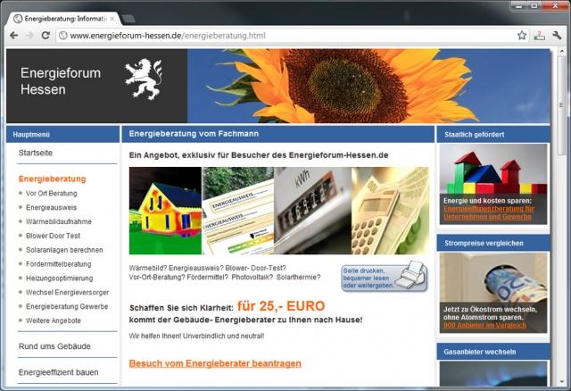 Alternative & Erneuerbare Energien News: Sanieren und Energie sparen lohnt sich. Informationsgespräch mit Gebäude-Energieberater unter: http://www.energieforum-hessen.de/energieberatung.html