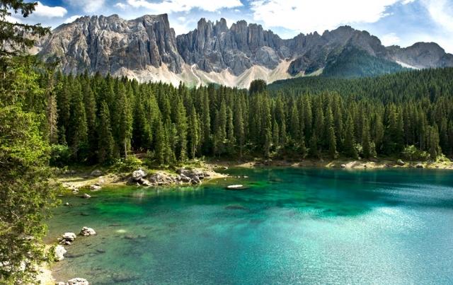Tier Infos & Tier News @ Tier-News-247.de | Tiers am Rosengarten ein alpines Zauberreich in Südtirol