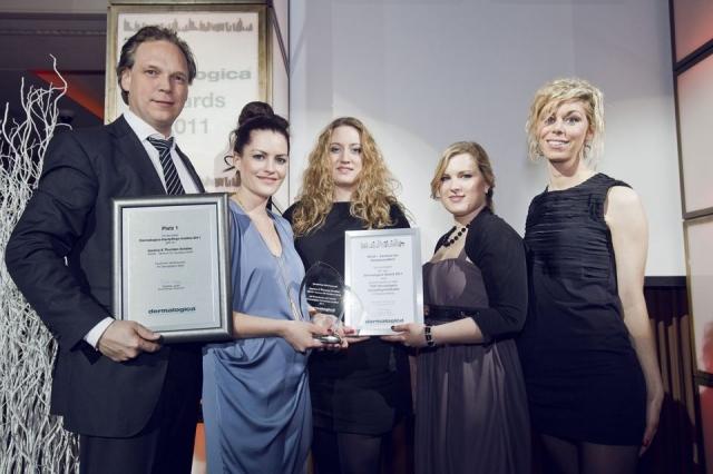 Berlin-News.NET - Berlin Infos & Berlin Tipps | Das SKIN8-Team bei der Dermalogica Award-Verleihung -