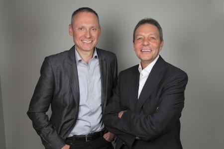 Thomas Issler und Erich Weber halten die Worldsoft Trainer Ausbildung