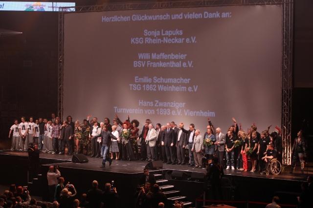 Ciao-Bella-Fans.de | Großes Dankeschön an die ehrenamtlichen Helfer im Sport: Abschlussevent von