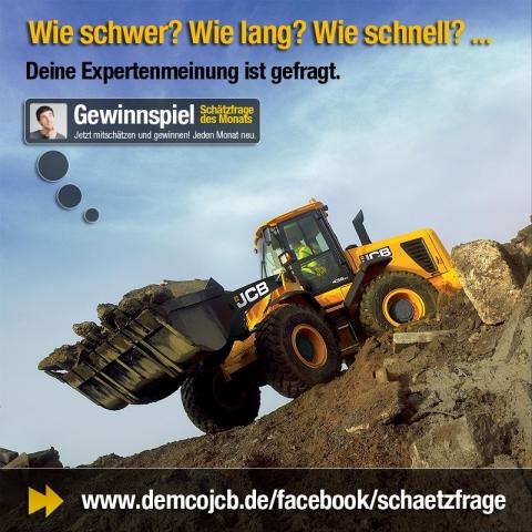 Auto News | Neue Gewinnspielserie auf der DEMCO JCB Fanpage auf Facebook