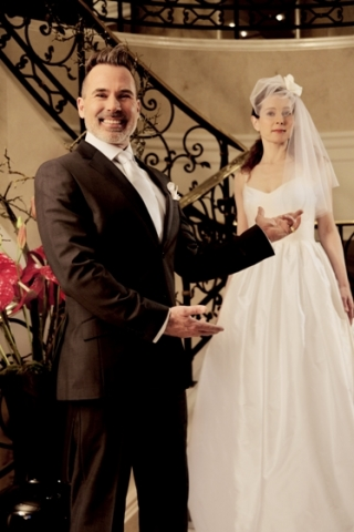 Auto News | Frank Mattée richtet den Hochzeitssalon im Ritz-Carlton Berlin aus