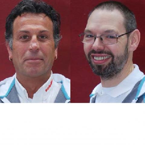 Frankfurt-News.Net - Frankfurt Infos & Frankfurt Tipps | Detlev Dressler (links) und Bernd Dietz (rechts) feierten ihr 5-jähriges Firmenjubiläum beim Bad Homburger Traditionsunternehmen Farben Scheller.