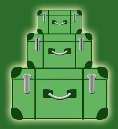 Rom-News.de - Rom Infos & Rom Tipps | Schweres Gepäck aussortieren durch Lebensberatung in der Gepäckabgabe