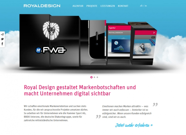 Die Internetagentur Royal Design aus Köln