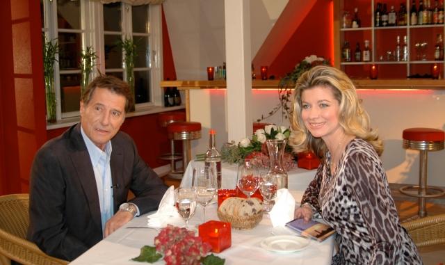 Rheinland-Pfalz-Info.Net - Rheinland-Pfalz Infos & Rheinland-Pfalz Tipps | Trafen sich zu einem sehr persönlichen Tischgespräch: Weltstar Udo Jürgens und Moderatorin Susan Stahnke