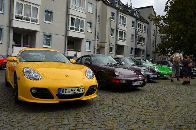Zum 3. Int. Porsche Treffen werden rund 100 Boliden aus Zuffenhausen in Eschweiler erwartet.