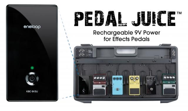 Nordrhein-Westfalen-Info.Net - Nordrhein-Westfalen Infos & Nordrhein-Westfalen Tipps | Das eneloop pedal juice für Effekte, Verstärker u.v.m.