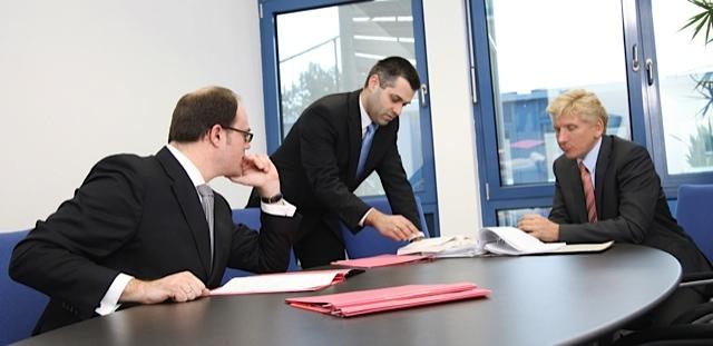 Rechtsanwälter der Kanzlei Dr. Schulte & Partner, Kim Oliver Klevenhagen und Sven Tintemann