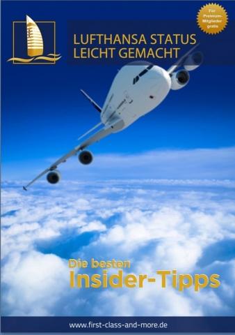 Shopping -News.de - Shopping Infos & Shopping Tipps | Lufthansa Senator Status leicht gemacht mit First Class & More