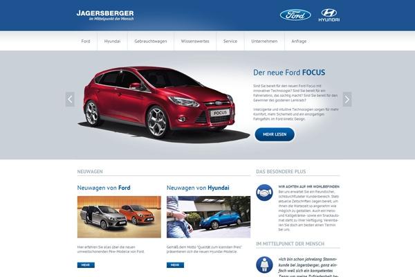 Auto News | Die neue Website vom Autohaus Jagersberger erstrahlt in klimaneutralem Glanz.
