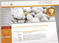 Technik-247.de - Technik Infos & Technik Tipps | Das Branchen-Portal PR-Journal untersuchte 1.403 Internetpräsenzen von PR-Agenturen und PR-Beratern - die Website der HEINRICH Agentur für Kommunikation aus Ingolstadt erhielt mit der Gesamtnote 1,3 den neunten Platz