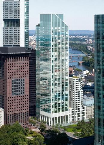 Paris-News.de - Paris Infos & Paris Tipps | So wird der TaunusTurm im Frankfurter Bankenviertel aussehen.