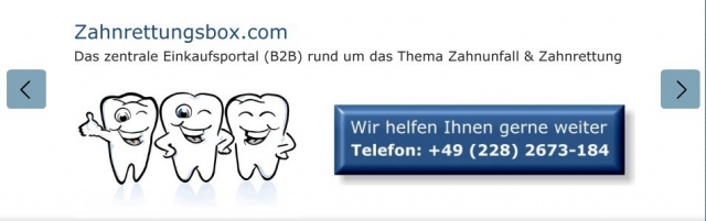 Radio Infos & Radio News @ Radio-247.de | Bild Website Zahnrettungsbox.com