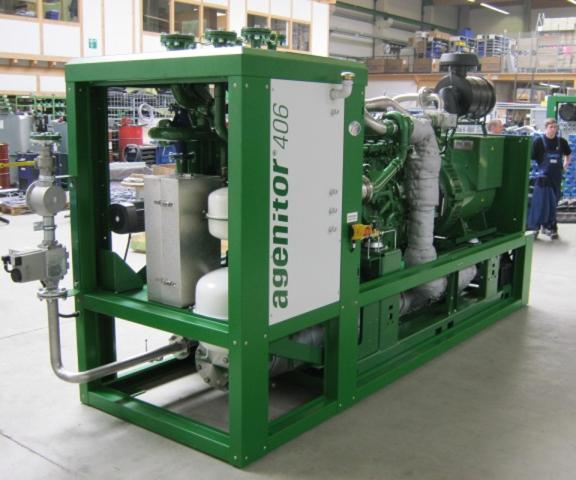 Alternative & Erneuerbare Energien News: Kompakt-BHKW agenitor 406 der 2G Energietechnik