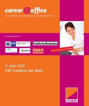 Berlin-News.NET - Berlin Infos & Berlin Tipps | Coverabbildung des Programmhefts zur career@office Frankfurt 2012