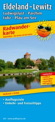 Schwerin-Infos.de - Schwerin-Infos Infos & Schwerin-Infos Tipps | Radwanderkarte Eldeland von Publicpress