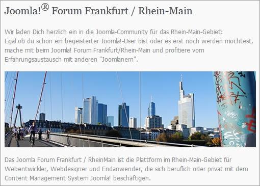 Einkauf-Shopping.de - Shopping Infos & Shopping Tipps | Am 20. April 2012 fand in Frankfurt das 2. Treffen des Joomla Forum Frankfurt / Rhein-Main statt.
