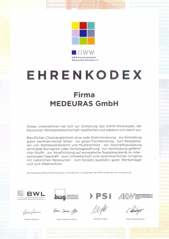 Duesseldorf-Info.de - Düsseldorf Infos & Düsseldorf Tipps | Ehrenkodex MEDEURAS