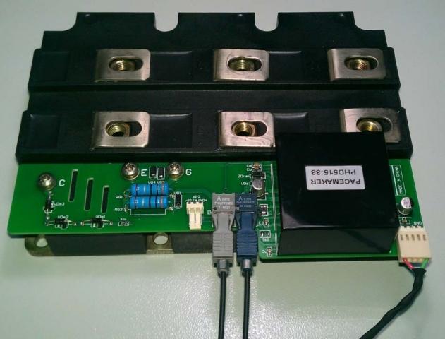 Technik-247.de - Technik Infos & Technik Tipps | Plug-and-Play-Treiberboard für 3 300 V mit Anschluss an ein IGBT-Modul