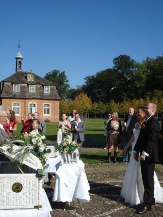 Saarland-Info.Net - Saarland Infos & Saarland Tipps | Hochzeit im Schloss Clemenswerth