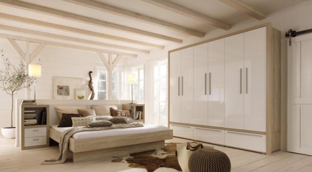 Duesseldorf-Info.de - Düsseldorf Infos & Düsseldorf Tipps | Das helle und elegante Design macht das Schlafzimmer zu einem Ort des Wohlfühlens.