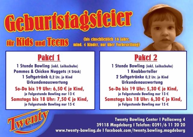 fluglinien-247.de - Infos & Tipps rund um Fluglinien & Fluggesellschaften | Kindergeburtstag im Magdeburger Twenty Bowling Center