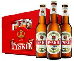 Bier-Homepage.de - Rund um's Thema Bier: Biere, Hopfen, Reinheitsgebot, Brauereien. | Foto: TYKSIE ist nicht nur das meistgekaufte Bier in Polen, sondern auch mit Abstand die größte polnische Biermarke in Deutschland.