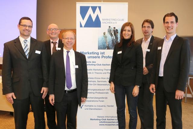 Berlin-News.NET - Berlin Infos & Berlin Tipps | Der für zwei Jahre gewählte neue Vorstand des Marketing-Clubs Aachen