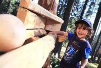 Podcasts @ Open-Podcast.de: Familienurlaub Tirol: Der Kugelwald am Glungezer bietet Spielspaß für Groß und Klein.