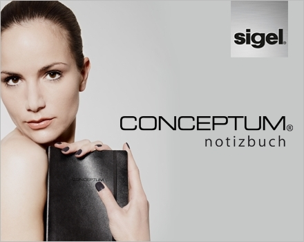 Musik & Lifestyle & Unterhaltung @ Mode-und-Music.de | CONCEPTUM® Notizbücher von Sigel