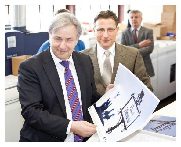 Ost Nachrichten & Osten News | Regierender Bürgermeister von Berlin besucht Druck- und Mediendienstleister Polyprint in Adlershof