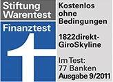 Online-Girokonto.net - 1822direkt im Vergleich