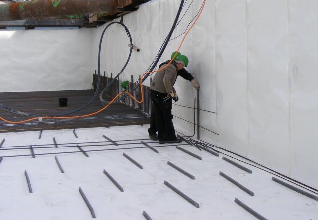 Preprufe® das Frischbetonverbundsystem mit abP für die Flächenabdichtung.