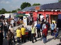 Alternative & Erneuerbare Energien News: Das Bayerische Fernsehen bei ikratos in Weissenohe, Woche der Sonne