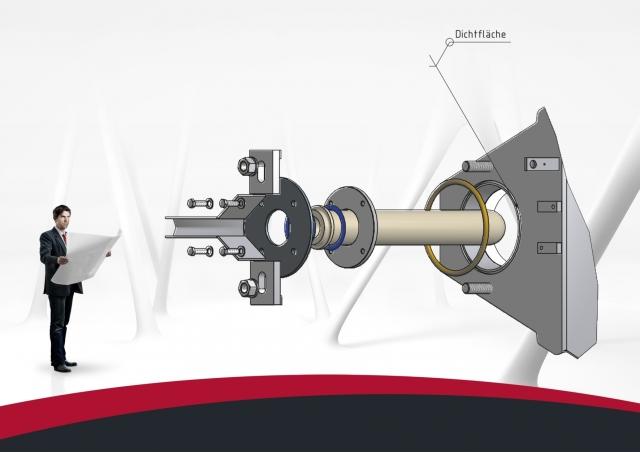 Technik-247.de - Technik Infos & Technik Tipps | Das neue keramische Steigrohr mit Stahlflansch ermöglicht eine einfache und passgenaue Installation und garantiert eine lange Lebensdauer.