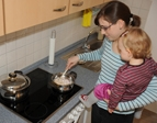 ERGO Verbraucherinformation - Gefahrenherd Küche