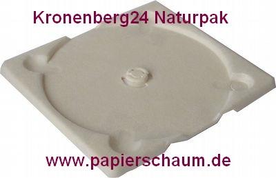 Kronenberg24 Naturpak Papierschaum CD Tray