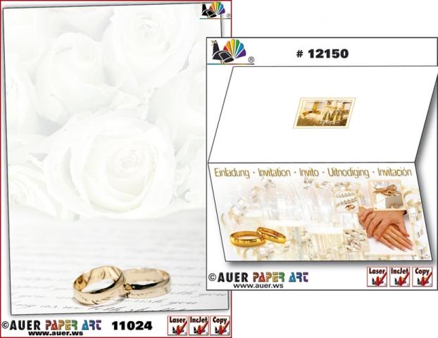 Einkauf-Shopping.de - Shopping Infos & Shopping Tipps | Hochzeitsbriefpapier, Hochzeitskarten, Hochzeitseinladungen von Auer Paper Art