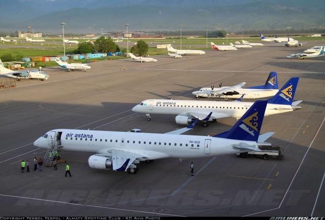 Grossbritannien-News.Info - Großbritannien Infos & Großbritannien Tipps | Moderne Embraer 190-Jets ersetzen bei Air Astana die Flotte der Fokker 50-Maschinen.