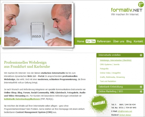 Berlin-News.NET - Berlin Infos & Berlin Tipps | Praxis Webdesign: formativ.net, Internetagentur bietet kostenloses PHP-Skript für Domainumleitungen und eigene 404-Fehlerseiten für Joomla CMS zum Download an.