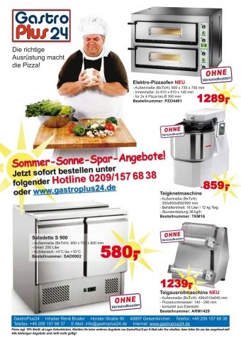 Technik-247.de - Technik Infos & Technik Tipps | Pizzatechnik und Pizzaofen von GastroPlus24